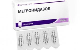 Использование свечей метронидазола в урологической практике — плюсы и минусы, эффективность и побочные действия