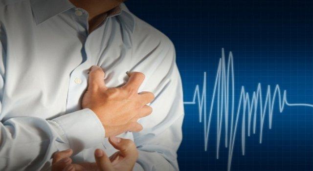 учащением сердцебиения