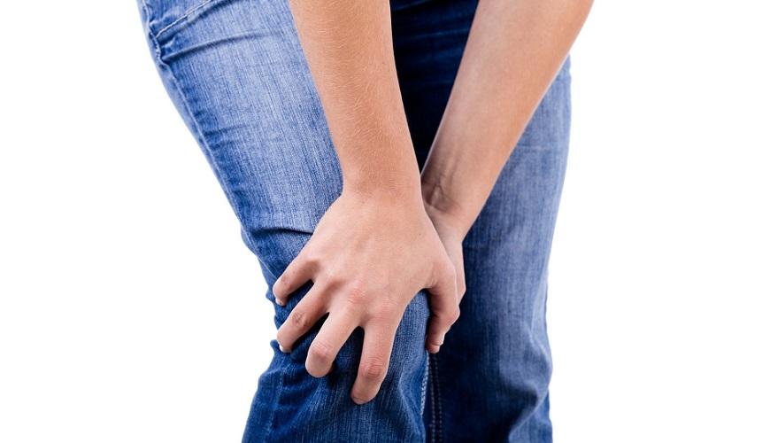 больное колено сустав