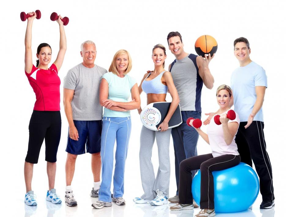 занятиями спортом