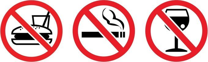 стоп алкоголю и курению