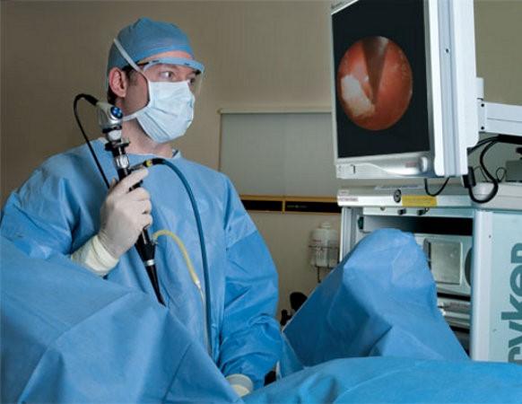 процесс цистоскопии