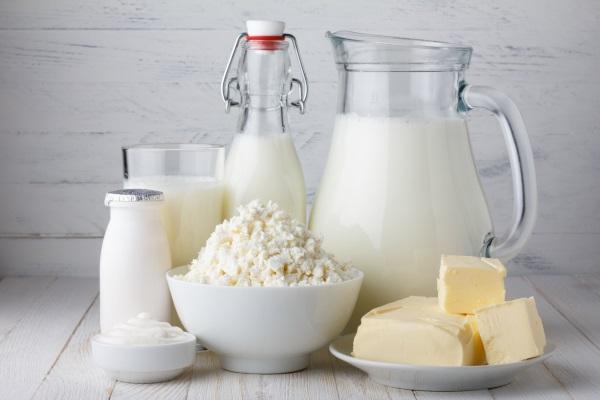 молочные и молочнокислые продукты