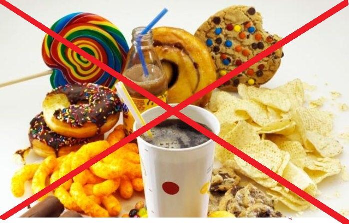 запрет на вредные продукты