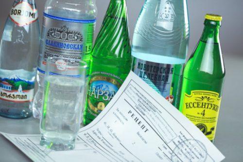 минеральная вода при лечении почек