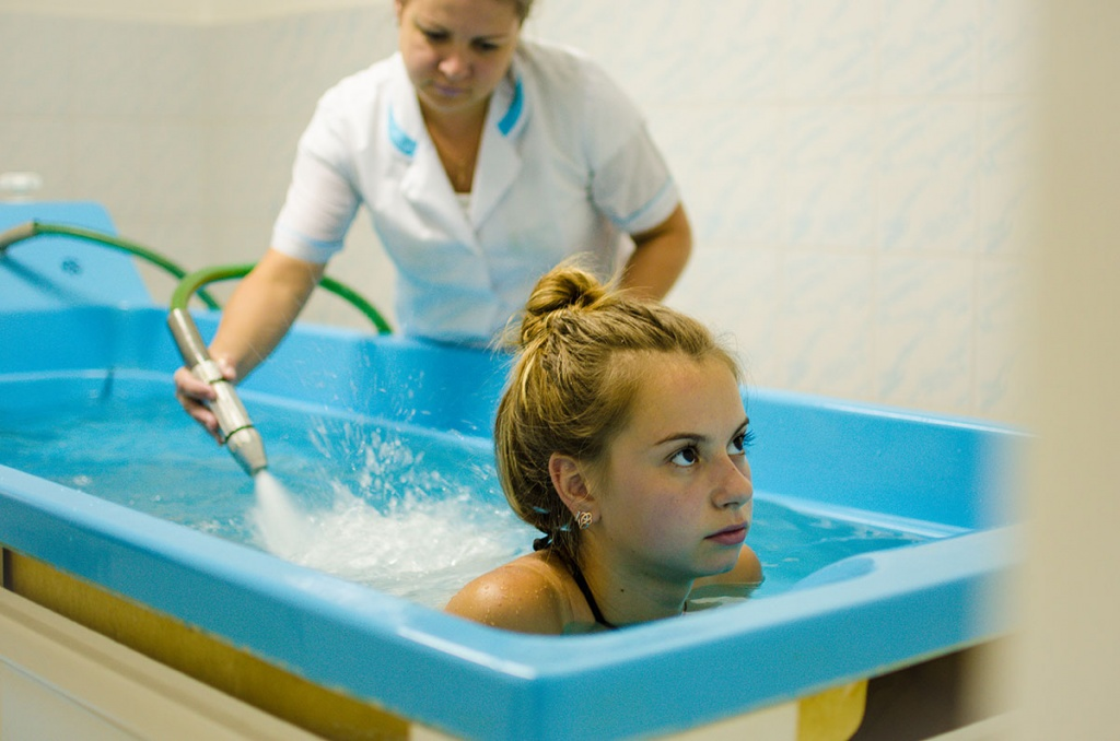 процедура с ванной