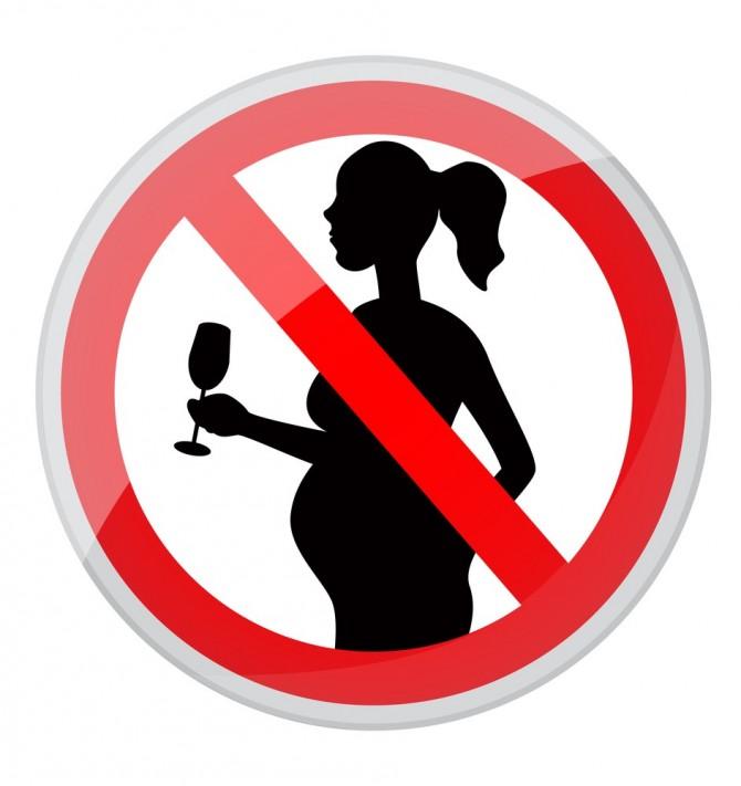 запрет на алкоголь во время беременности