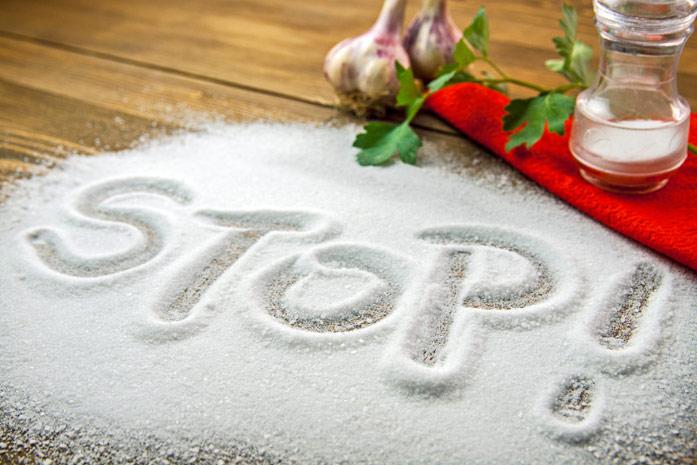 слово стоп из соли