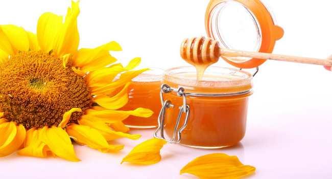 мед и подсолнух