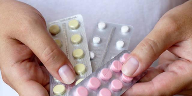 упаковки таблеток