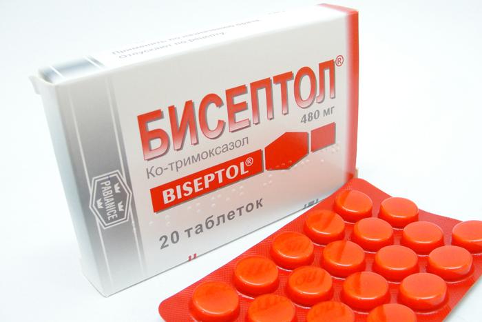 таблетки бисептола