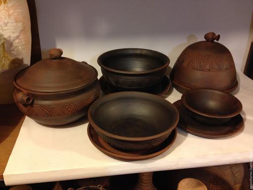 Глиняная посуда, использовать