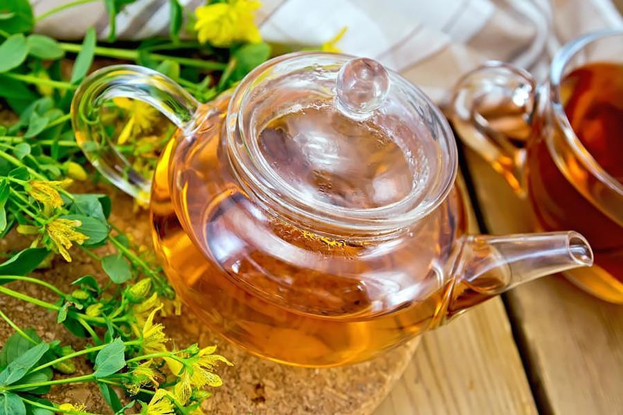 Чай лечение из зверобоя почек